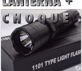 Foto Lanterna Type 1101 Light Flashlight Com Choque
