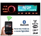 Foto Som Automotivo Rádio Fm Mp3 Bluetooth Usb Sd...